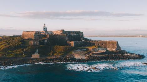 Castillo San Felipe del Morro en San Juan, Puerto Rico