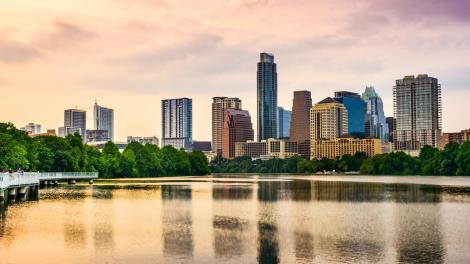 Horizonte de la ciudad de Austin, Texas