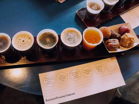 A delicious flight awaits during Beer Week