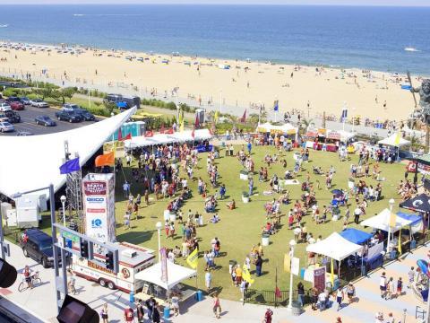 Vista aérea del American Music Festival