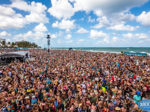 The jam-packed Tortuga Music Festival