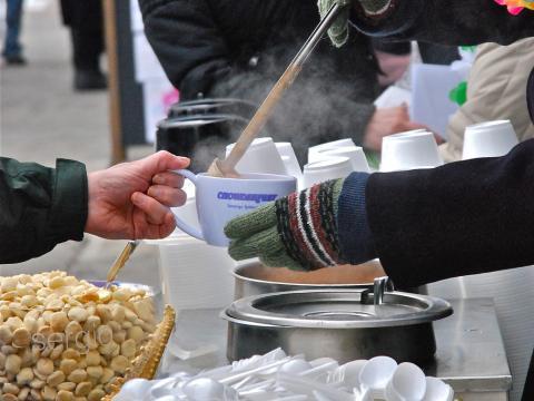 February's Chowderfest warms up the crowd