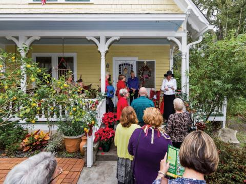 Touring historic and elegant homes during the Amelia Island Museum of History Holiday Home Tour