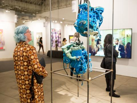 Expo Chicago gallery exhibitions at Navy Pier to open the fall art season