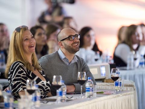 Cata de vinos y seminario en Kohler Food & Wine Experience