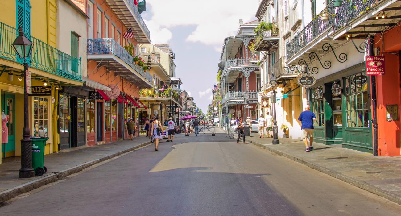 Nueva Orleans Luisiana Restaurantes Y Compras En El French Quarter