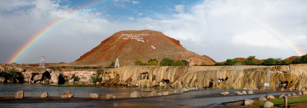 Monument Hill y Hot Springs State Park en Thermopolis, Wyoming