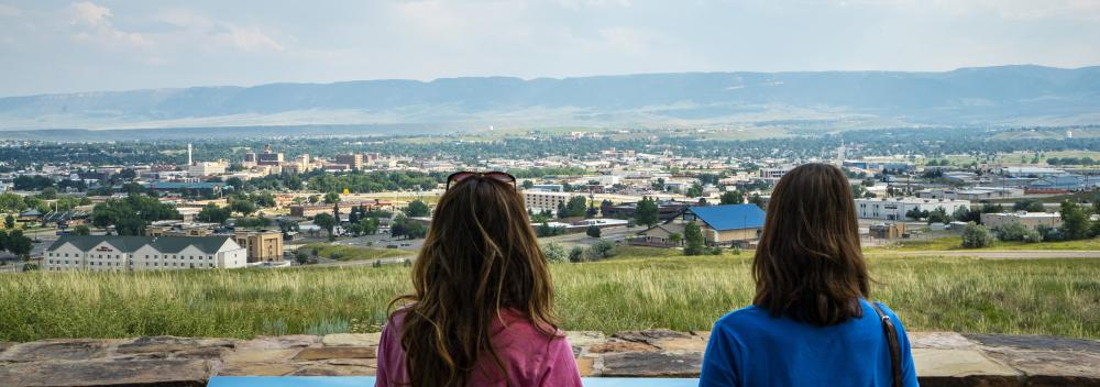 El National Historic Trails Interpretive Center en Casper, Wyoming